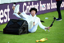 Andrew Flintoff takes a tumble, Finals Day, NatWest T20 Blast, Edgbaston, September 2, 2017