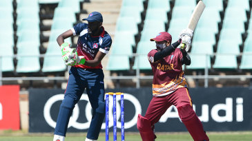 Dharmang Patel's 93 off 79 balls propelled Qatar to a commanding total