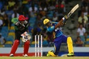 Tion Webster top-scored for Tridents with 32, Barbados Tridents v St Kitts and Nevis Patriots, CPL 2017, Bridgetown, September 3, 2017