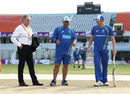 Chairman of selectors Trevor Hohns, Australian Head Coach Darren Lehmann and captain Steve Smith inspect the pitch, Bangladesh v Australia, 2nd Test, Chittagong, 1st day, September 4, 2017