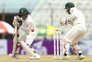 Mominul Haque steers one to third man, Bangladesh v Australia, 2nd Test, Chittagong, 1st day, September 4, 2017