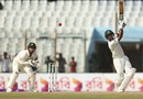 Sabbir Rahman launches a six, Bangladesh v Australia, 2nd Test, Chittagong, 1st day, September 4, 2017