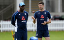Ottis Gibson, ahead of his final Test as bowling coach, alongside James Anderson, Lord's, September 5, 2017
