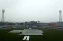 Rain delayed the start of the third day, Bangladesh v Australia, 2nd Test, Chittagong, 3rd day, September 6, 2017
