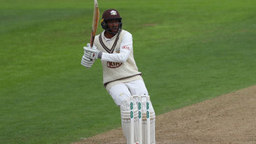Ryan Patel top-scored with 81 in his second first-class appearance
