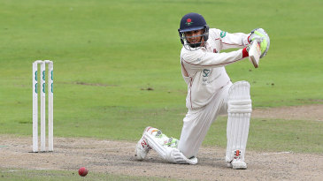 Haseeb Hameed dug in as wickets fell
