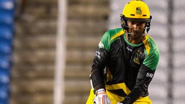 Jamaica Tallawahs' captain Kumar Sangakkara scored a 38-ball 57