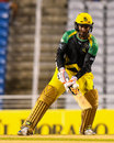 Jamaica Tallawahs' captain Kumar Sangakkara scored a 38-ball 57, Guyana Amazon Warriors v Jamaica Tallawahs, Eliminator, Caribbean Premier League, Tarouba, September 6, 2017