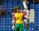 Luke Ronchi's 70 off 33 balls knocked out defending champions Jamaica Tallawahs by five wickets, Guyana Amazon Warriors v Jamaica Tallawahs, Eliminator, Caribbean Premier League, Tarouba, September 6, 2017