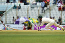 Matthew Wade effects a terrific stumping to remove Sabbir Rahman, Bangladesh v Australia, 2nd Test, Chittagong, 4th day, September 7, 2017