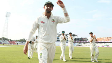 Nathan Lyon finished with a 13-for, his best in Tests