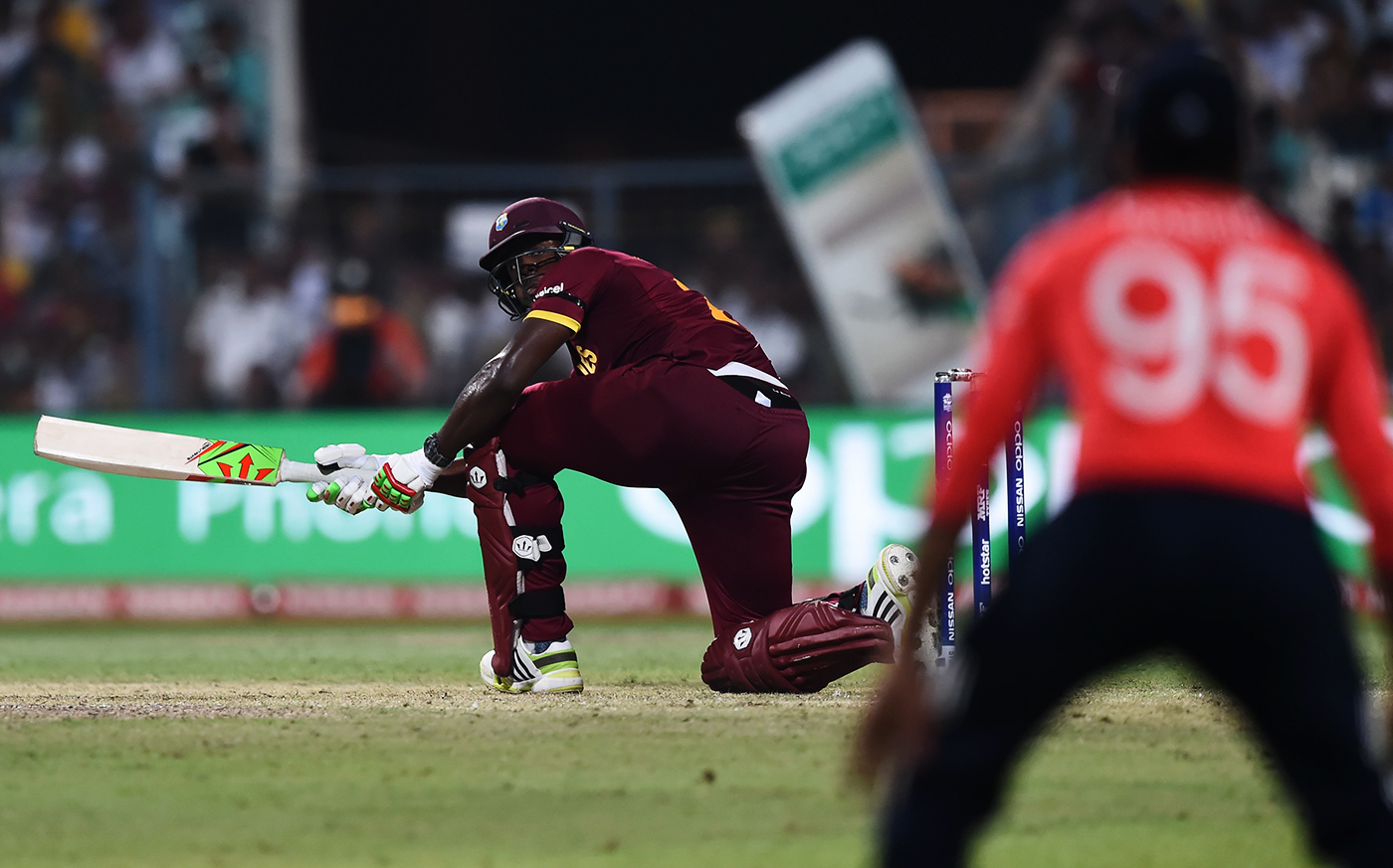 West Indies batsmen don't worry about dot balls because they back themselves to score boundaries