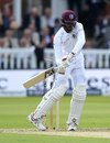Roston Chase was bowled by an unplayable delivery from Ben Stokes, England v West Indies, 3rd Investec Test, Lord's, 1st day, September 7, 2017