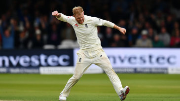 Ben Stokes quickly went through West Indies