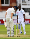 Kemar Roach ended a difficult stay for Jonny Bairstow, England v West Indies, 3rd Investec Test, Lord's, 2nd day, September 8, 2017
