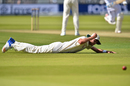 Stuart Broad pummelled the ground thrice after dropping a straightforward Jermaine Blackwood catch, England v West Indies, 3rd Investec Test, Lord's, 3rd day, September 9, 2017