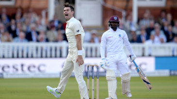 James Anderson added Jermaine Blackwood to his haul