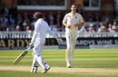 Toby Roland-Jones ended Shane Dowrich's lean series, England v West Indies, 3rd Investec Test, Lord's, 3rd day, September 9, 2017