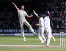 James Anderson removed Shai Hope for his fifth wicket, England v West Indies, 3rd Investec Test, Lord's, 3rd day, September 9, 2017