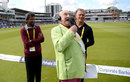 Henry Blofeld on his final day commentating for Test Match Special, England v West Indies, 3rd Investec Test, Lord's, 3rd day, September 9, 2017