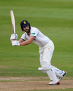 Matthew Lamb bats for Warwickshire, Warwickshire v Essex, Specsavers County Championship, Division One, Edgbaston, 1st day, September 12, 2017