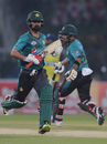 Ahmed Shehzad and Babar Azam put on a century stand, Pakistan v World XI, 1st T20I, Independence Cup 2017, Lahore, September 12, 2017