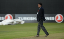 Match referee Javagal Srinath inspected the pitch before calling the game off, Ireland v West Indies, Only ODI, Belfast, Sep 13, 2017