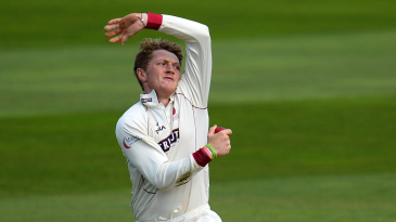 Dom Bess in action for Somerset