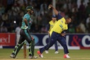Samuel Badree took 2 for 31 in four overs, Pakistan v World XI, 2nd T20I, Independence Cup 2017, Lahore, September 13, 2017