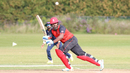 Srimantha Wijeratne flicks over midwicket on his way to a half-century, Canada v USA, Auty Cup, King City, September 13, 2017