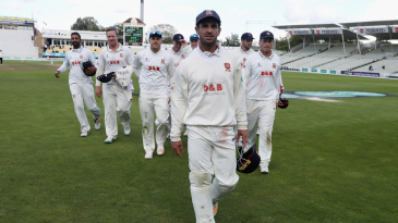 Ryan ten Doeschate leads off an Essex team on the brink of the title