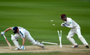 Shaun Marsh is stumped by Surrey's Ben Foakes, Surrey v Yorkshire, Specsavers County Championship, Division One, Kia Oval, 1st day, September 14, 2017