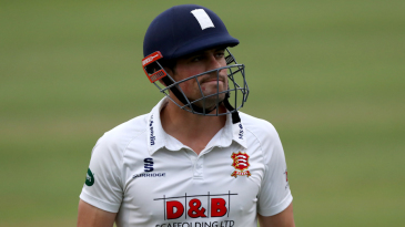 Alastair Cook has spearheaded Essex's title challenge