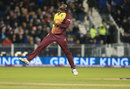 Carlos Brathwaite finished the innings off to confirm victory, England v West Indies, only T20I, Chester-le-Street, September 16, 2017