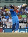 Rohit Sharma perished to the short ball, India v Australia, 1st ODI, Chennai, September 17, 2017