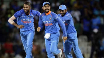 Hardik Pandya sent back Steven Smith and Travis Head in quick succession