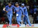 Hardik Pandya sent back Steven Smith and Travis Head in quick succession, India v Australia, 1st ODI, Chennai, September 17, 2017