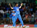Yuzvendra Chahal celebrates after dismissing Glenn Maxwell, India v Australia, 1st ODI, Chennai, September 17, 2017