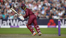 Shai Hope struck four fours in his 35, England v West Indies, 1st ODI, Old Trafford, September 19, 2017