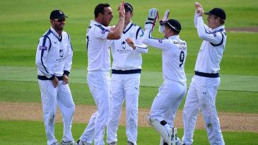 Kyle Abbott claimed a six-wicket haul