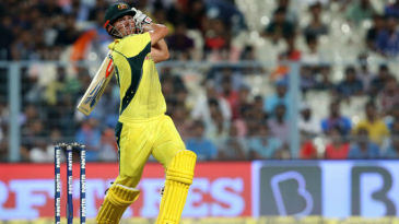 Marcus Stoinis held the lower order together with a fighting half-century