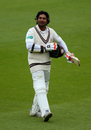 Kumar Sangakkara made 157, Surrey v Somerset, County Championship, Division One, The Oval, September 21, 2017
