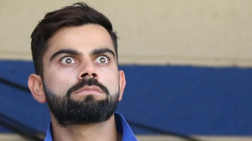 Virat Kohli was intense as ever