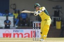 Steven Smith gets into a bit of a tangle, India v Australia, 3rd ODI, Indore