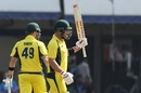 Aaron Finch celebrated his return with a century, India v Australia, 3rd ODI, Indore