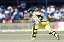 Steven Smith ventures a reverse sweep, India v Australia, 3rd ODI, Indore