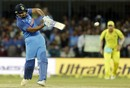 Rohit Sharma is quick on a pull, India v Australia, 3rd ODI, Indore
