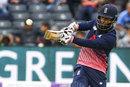 Moeen Ali swings into the leg side, England v West Indies, 3rd ODI, Bristol, September 24, 2017