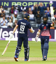 Chris Woakes and Moeen Ali put on a century stand, England v West Indies, 3rd ODI, Bristol, September 24, 2017