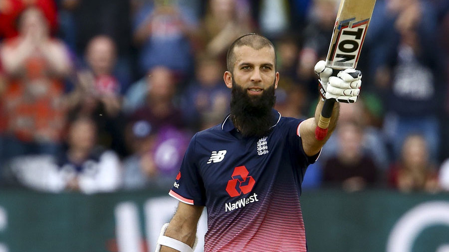 Moeen Ali thrashed a 53-ball hundred